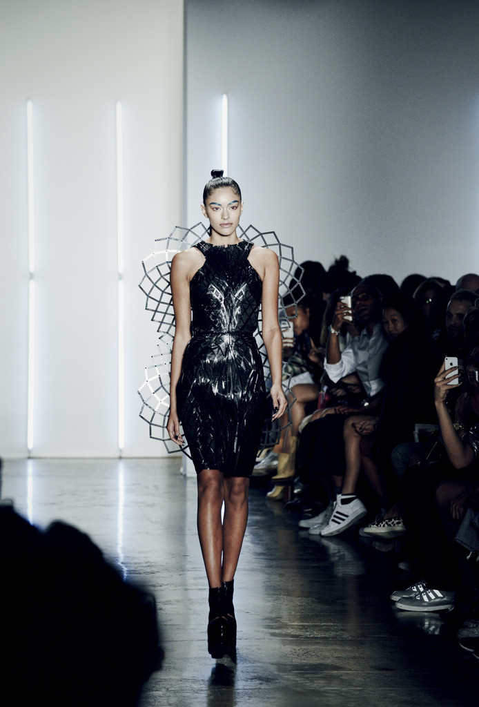 Chromat Adrenaline Dress powered by Intel