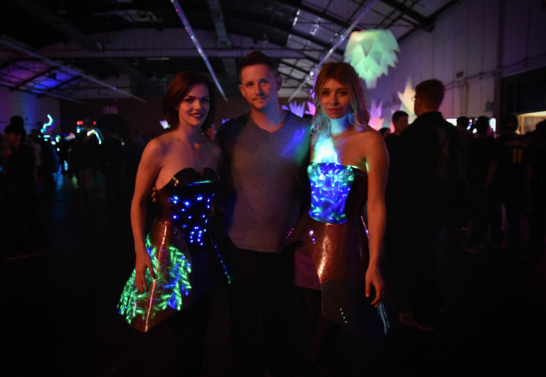 Searching for Fashion Tech at Maker Faire Bay Area