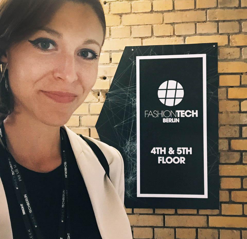 Amanda Cosco at Fashion Tech Berlin