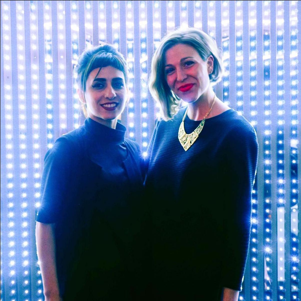 Amanda and Behnaz Farahi in San Francisco