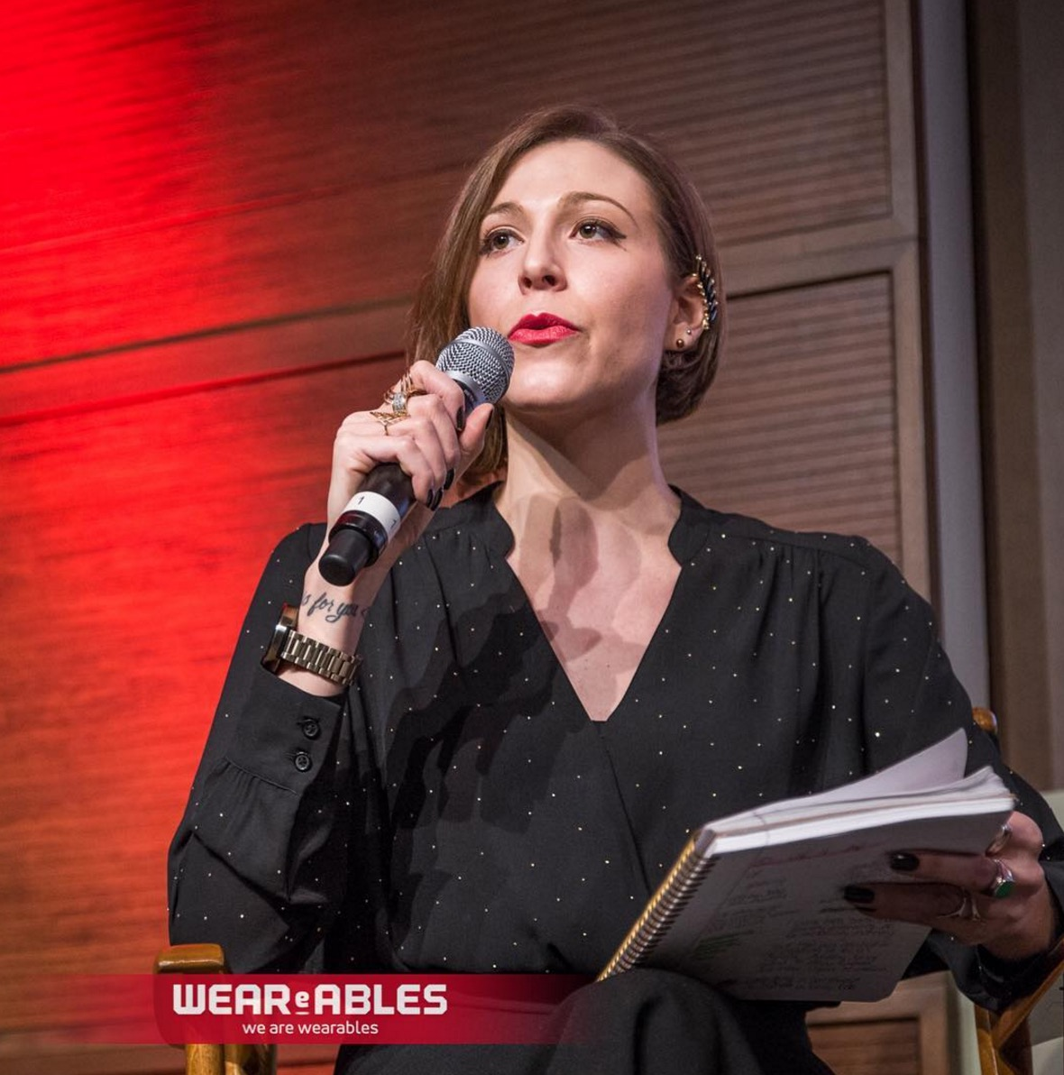 Speaking a CES writer's recap panel in Toronto