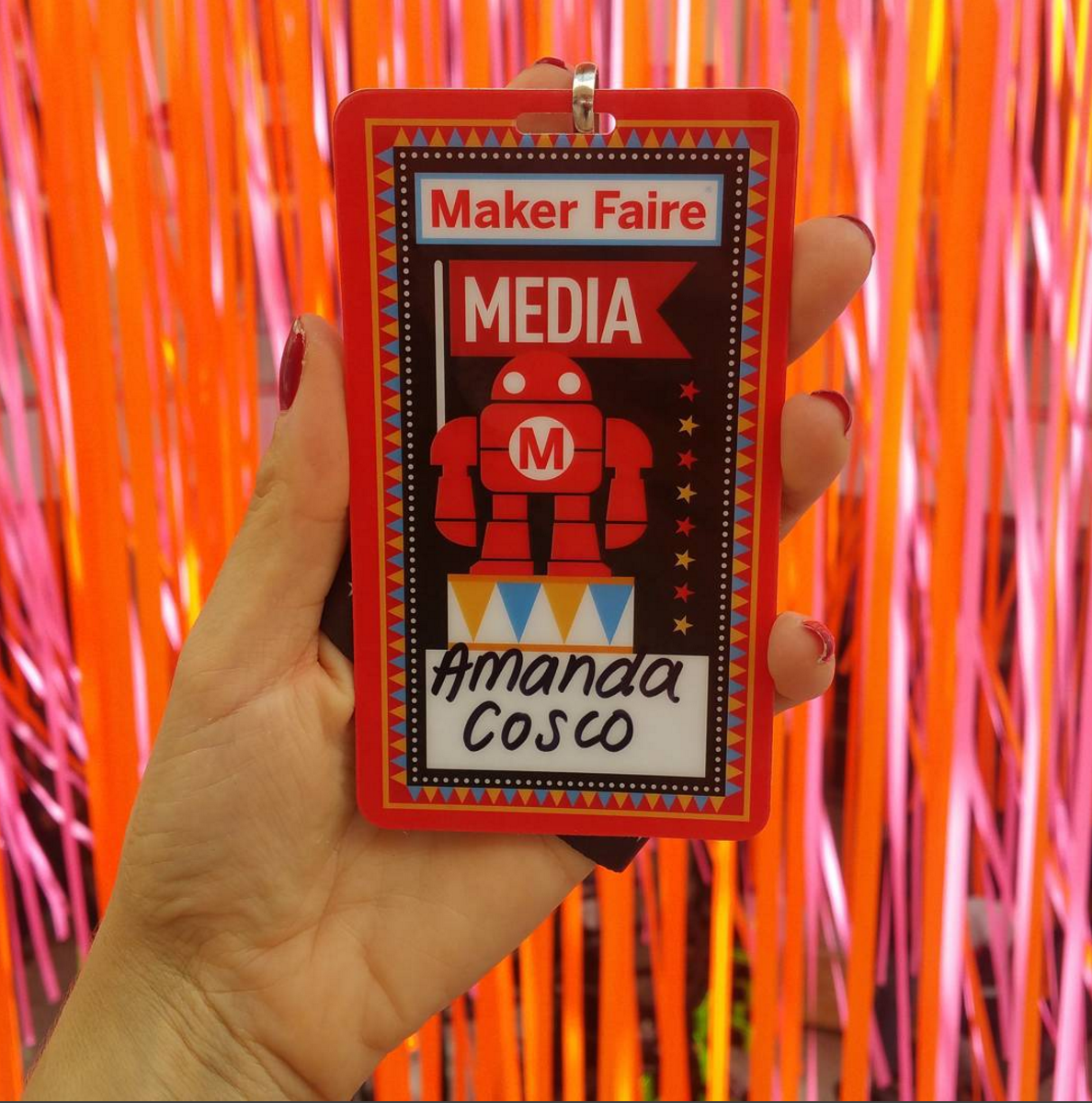 Media Pass for World Maker Faire NYC