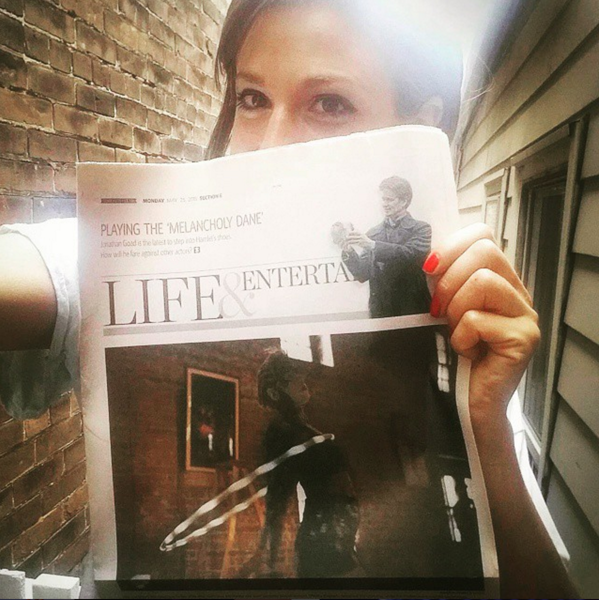 Made the cover of the Toronto Star's Life Section