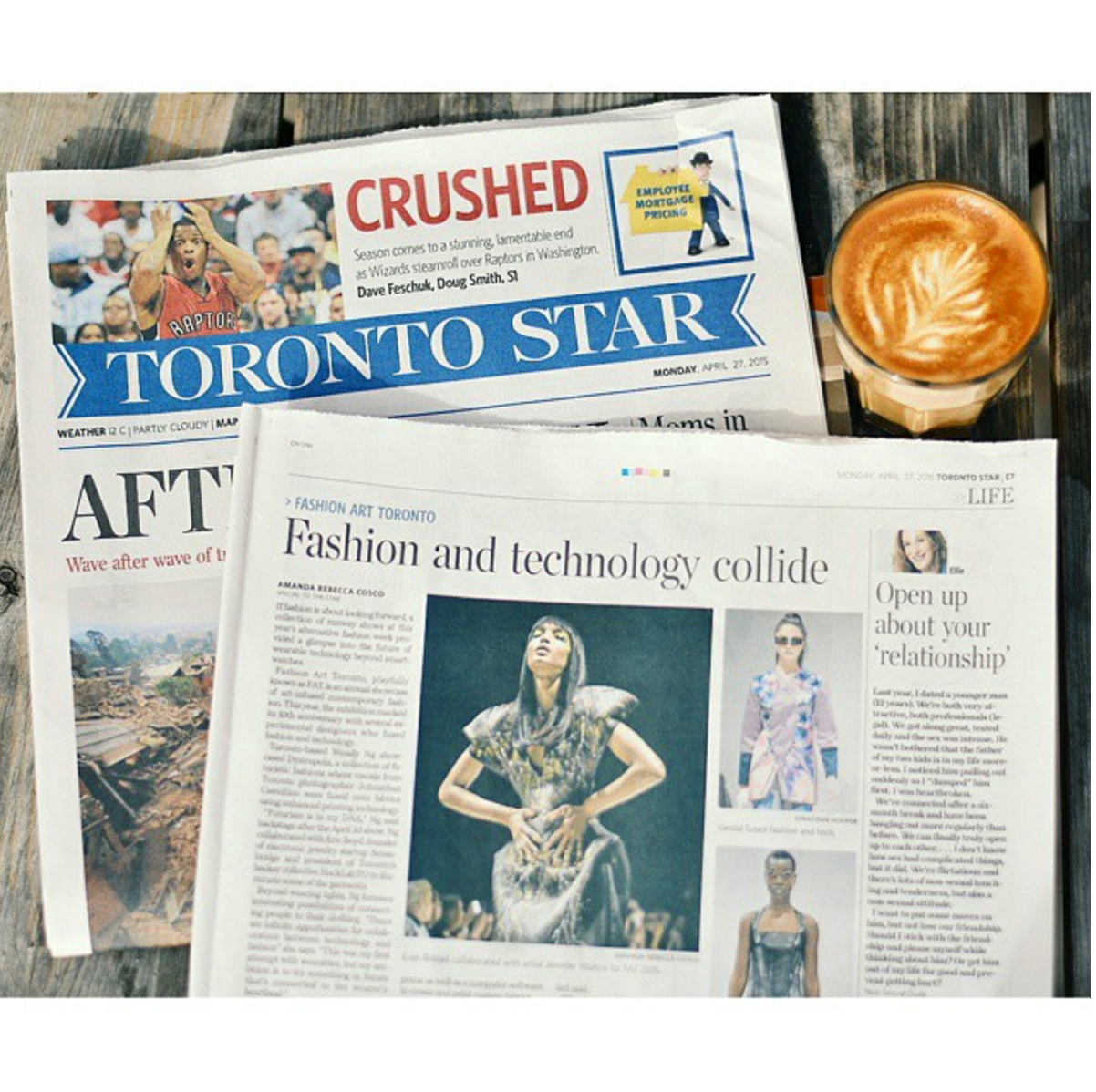 My very first article for the Toronto Star