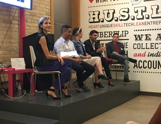Startup Fashion Week Fashion Tech Forum Panel