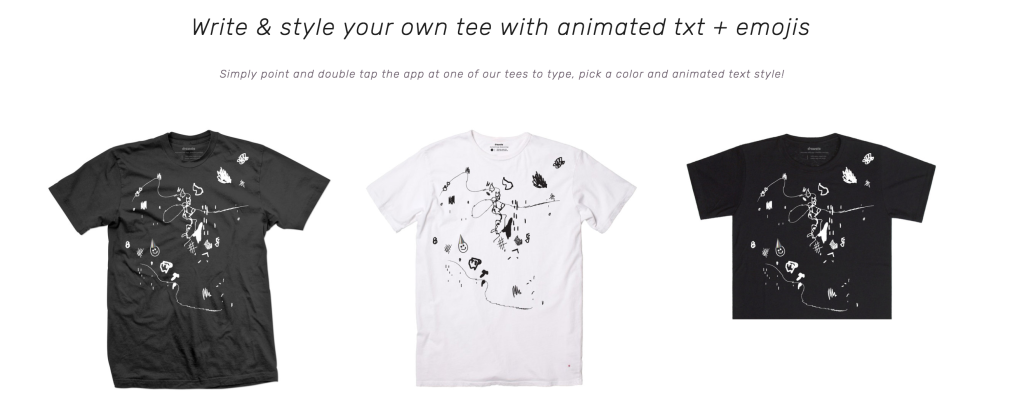 Augmented Reality T-shirts