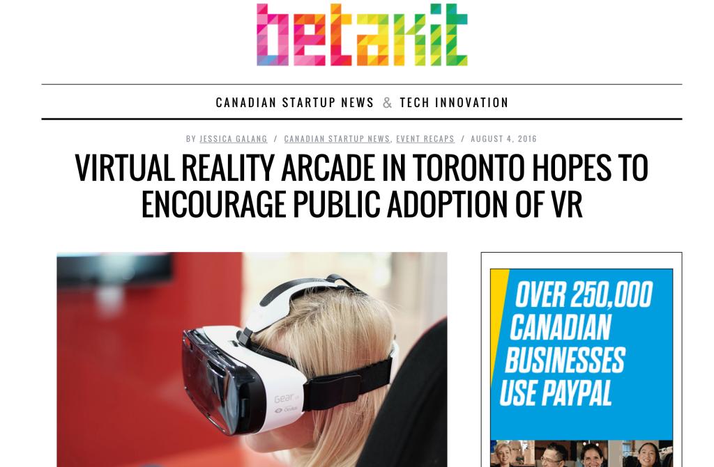 Toronto Tech Arcade