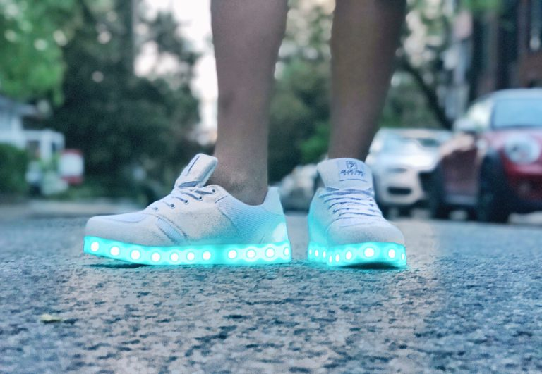 Tech Tuesday: Electric Styles LED Shoes Review & Try-On