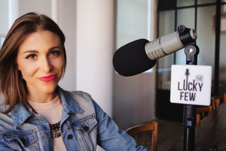 Amanda Cosco on the Lucky Few Podcast