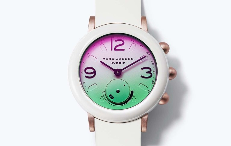 Marc Jacobs releases Its First Smartwatch, the Riley Hybrid