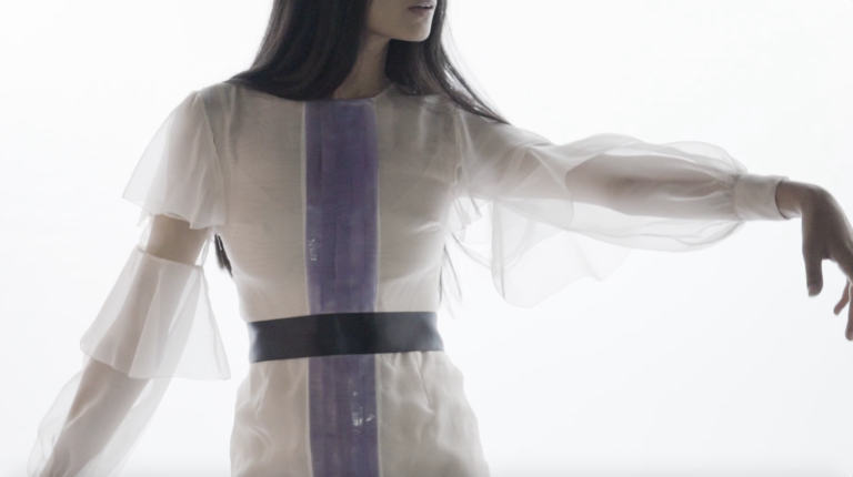 Julianna Bass Debuts Consumer-Controlled Colour-Changing Fabric at NYFW