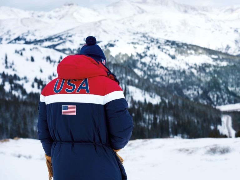 Ralph Lauren Rolls Out Heat-Conducting Ink Jackets for Team USA