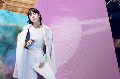 A future fashion festival, shape-shifting mannequins, and self-heating jackets