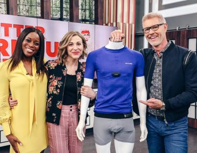 Amanda Cosco shares top Fabrics for Better Workout Wear on CBC's the Goods