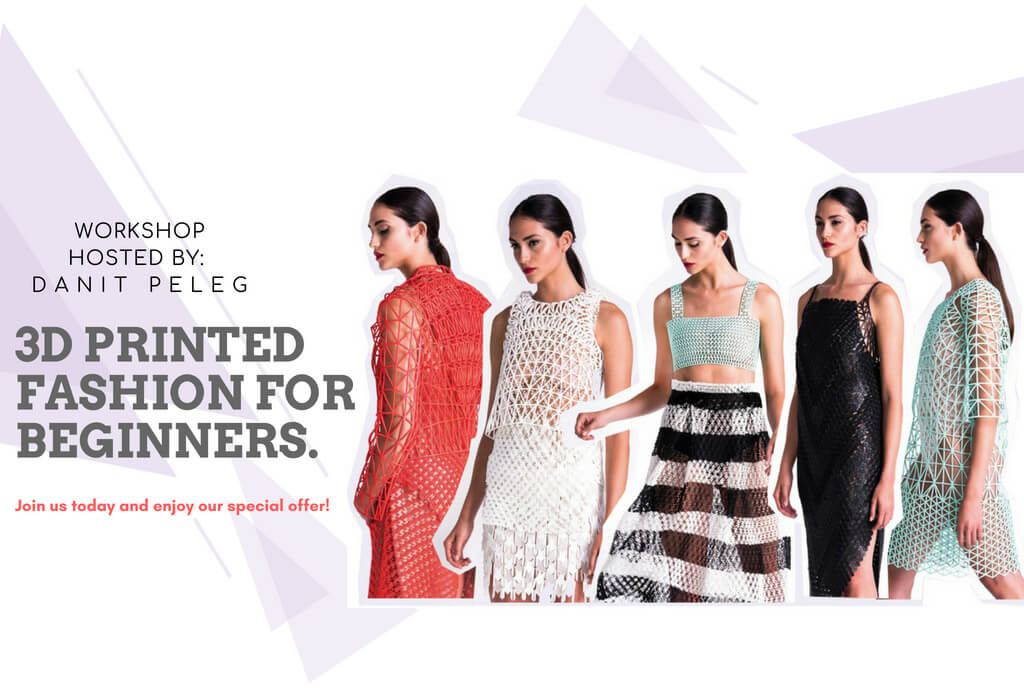 Learn How To 3d Print Your Own Fashion At Home Electric Runway