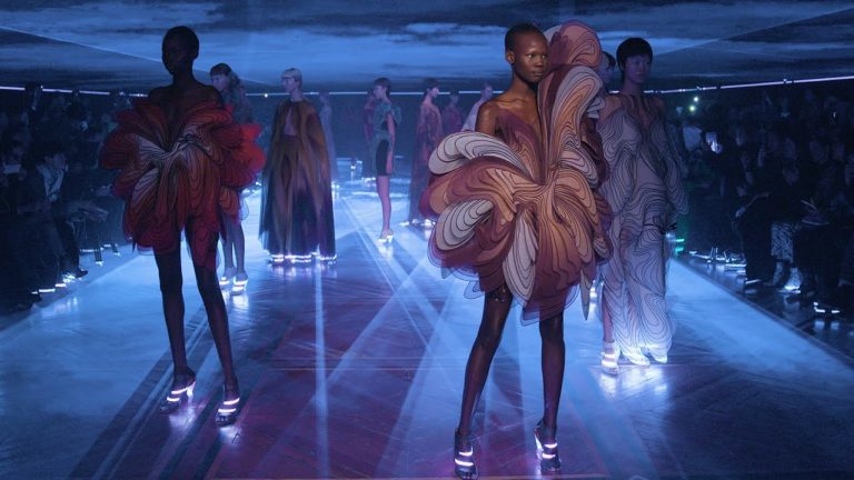 Watch Iris Van Herpen's Latest Haute Couture collection