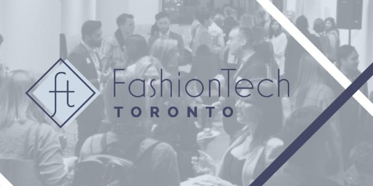 This was FashionTech Toronto