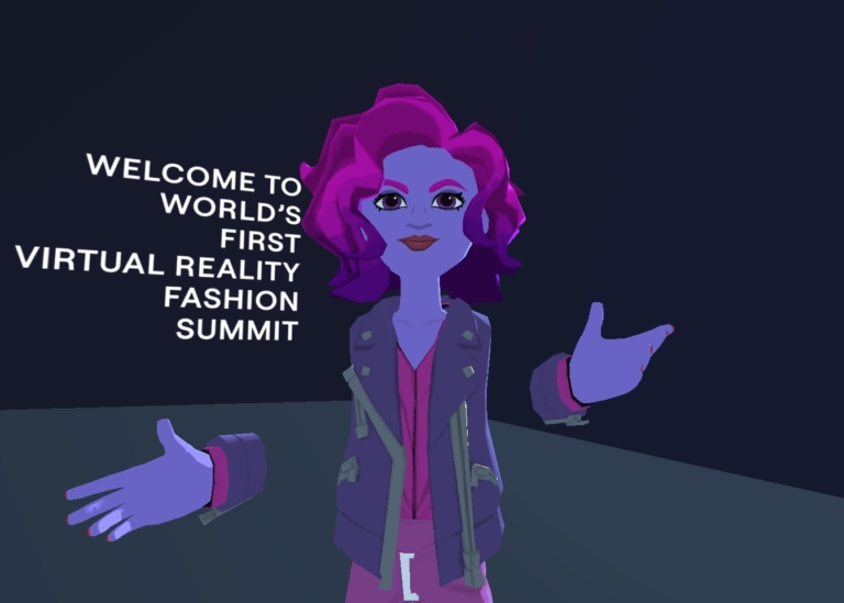 Attending the Circular Fashion Summit in Virtual Reality