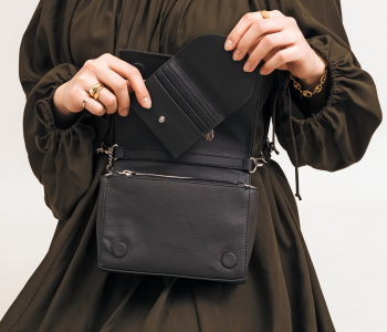 The Card Holder and Convertible Belt Bag